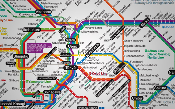 Japan Subway Map Pdf
