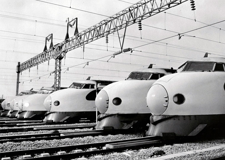 The bullet trains history